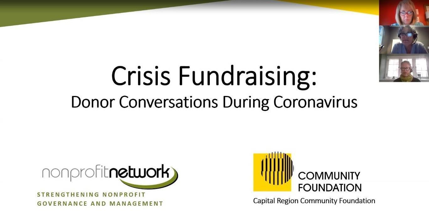 Crisis Fundraising: Donor Conversations During Coronavirus